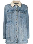 Levi's Trucker Oversized Denim Jacket - Blue