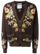 Moschino Floral Embroidered Cardigan