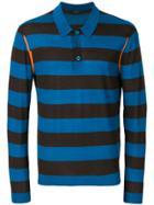 Joseph Striped Polo Shirt - Blue