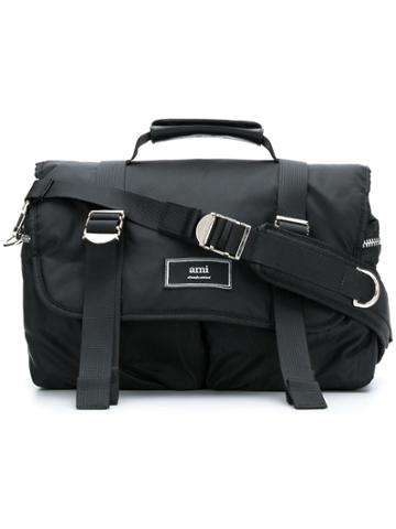 Ami Alexandre Mattiussi Mini Messenger Bag - Black