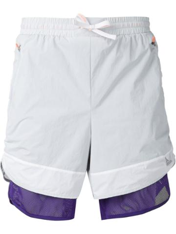 Adidas Adidas By Kolor Layered Track Shorts