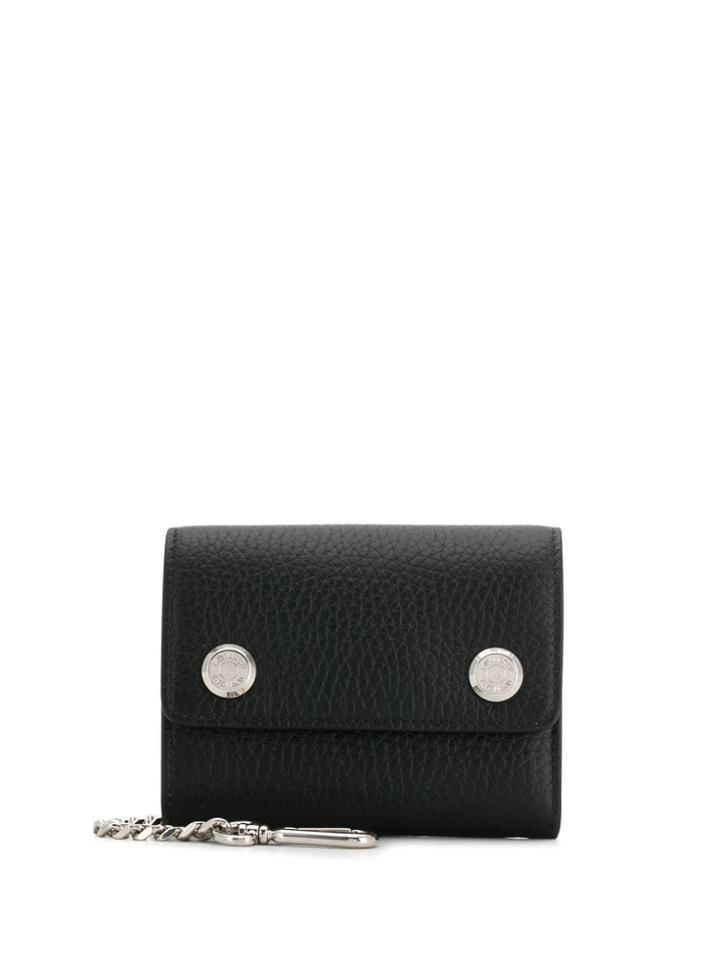 Mulberry Heavy Grain Wallet - Black