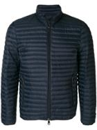Emporio Armani Padded Zip-up Jacket - Blue