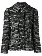 Simone Rocha Buttoned Tweed Jacket