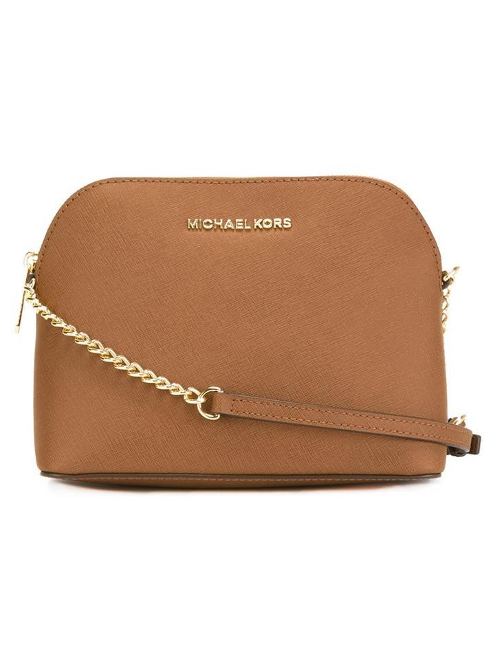 Michael Michael Kors Large 'cindy' Crossbody Bag, Women's, Brown