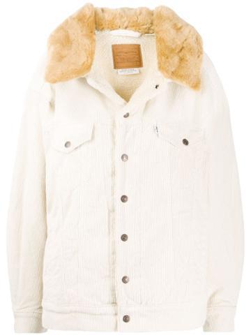 Levi's Levi's 853090000 Ecru Wide Wale Natural (vegetable)->cotton -
