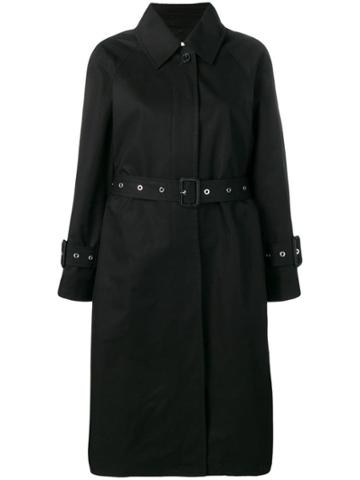 Mackintosh Belted Trench Coats - Black