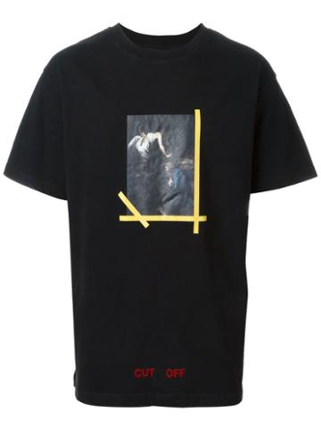 Off-white Portrait Print T-shirt