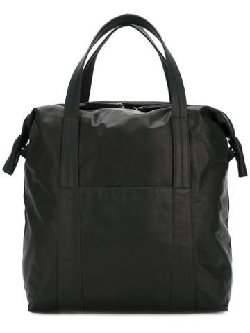 Maison Margiela Classic Tote Bag, Men's, Black, Leather
