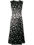 Bottega Veneta Butterfly Print Dress - Black