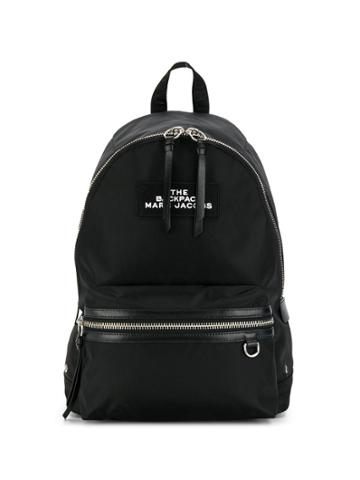 Marc Jacobs Two-way Zip Closure Backpack - Black