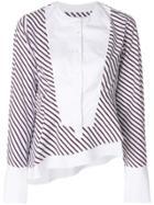 Carven Striped Blouse - White