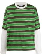 Sunnei Double Over Tshirt - Green