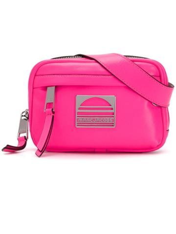 Marc Jacobs Logo Plaque Belt Bag - Pink
