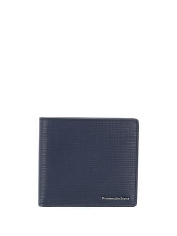Ermenegildo Zegna Textured Leather - Blue
