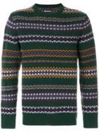 Barbour Fairisle Sweater - Green