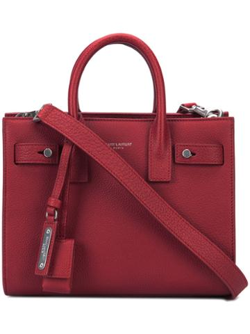 Saint Laurent Tote Bag, Women's, Red, Leather
