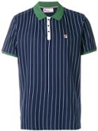 Fila Striped Polo Shirt - Blue