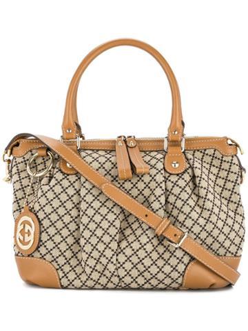 Gucci Vintage Gucci 2way Hand Bag - Brown
