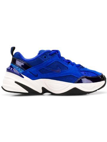 Nike Nike Av7030 400 Racer Blue Leather/fur/exotic Skins->leather
