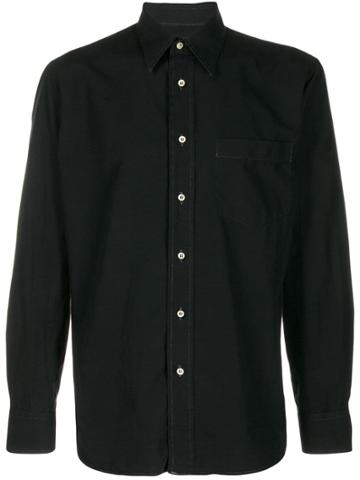 Dolce & Gabbana Pre-owned 1990's Chest Pocket Shirt - Black