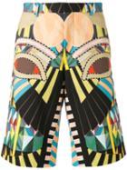 Givenchy Crazy Cleopatra Bermuda Shorts, Men's, Size: 54, Cotton
