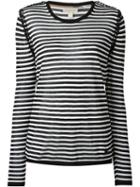 Burberry Brit Striped Knit Top