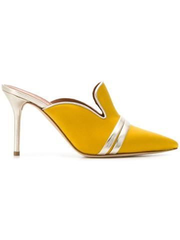 Malone Souliers By Roy Luwolt Hayley Mules - Yellow