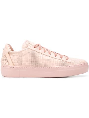 Fabi Logo Low-top Sneakers - Pink & Purple