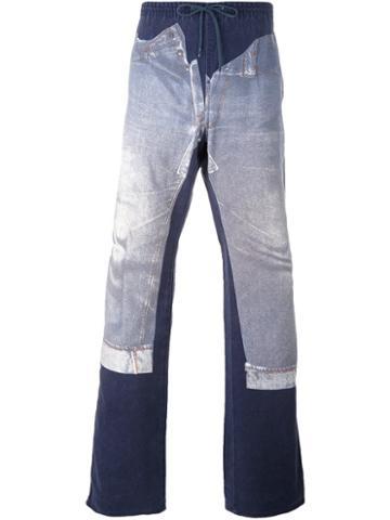 Jean Paul Gaultier Vintage Panelled Jeans