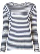 Vince Striped Top - White