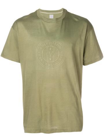 Valentino Vintage Embroidered Logo T-shirt - Grey