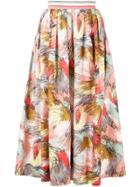 Missoni Printed Pleated Skirt - Multicolour