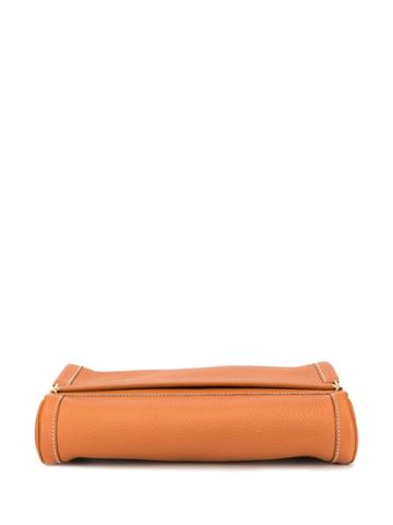 Hermès Pre-owned Equi Clutch Bag - Brown