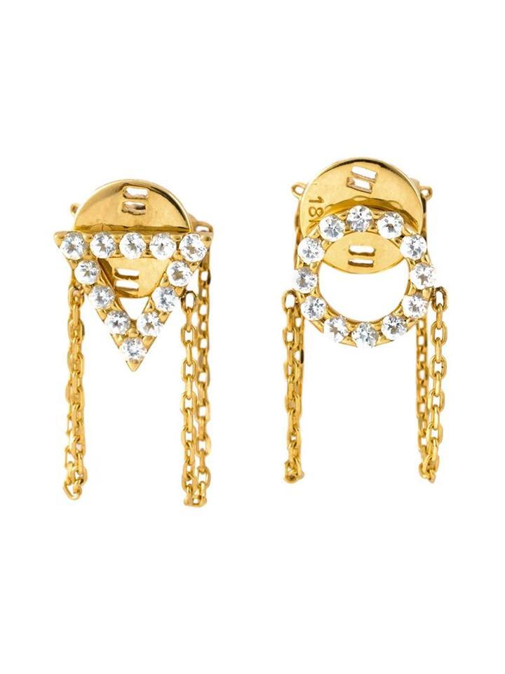 Gisele For Eshvi 'december' Earrings