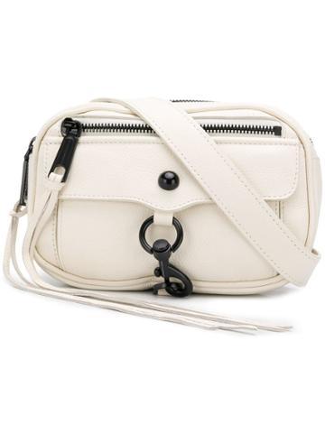 Rebecca Minkoff Blythe Sling Belt Bag - White