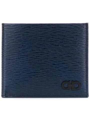 Salvatore Ferragamo Folded Cardholder - Blue