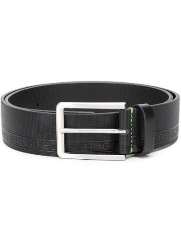 Boss Hugo Boss Logo Embossed Belt - Neutrals