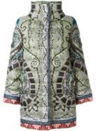 Etro Printed Padded Coat