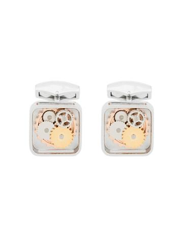 Tateossian Gear Cufflinks - Silver