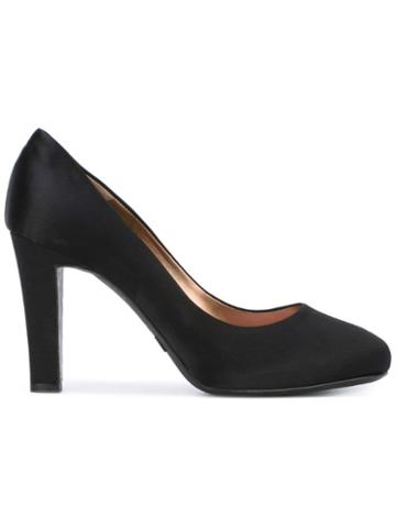 Giorgio Armani Pre-owned Almond Toe Pumps - Black