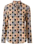 Burberry Polka Dot Shirt - Brown