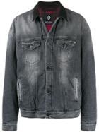 Marcelo Burlon County Of Milan Oversized Jacket - Grey