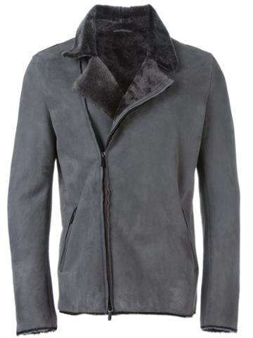 Emporio Armani Shearling Collar Jacket