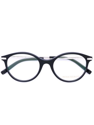 Boucheron Oval Frame Glasses - Black