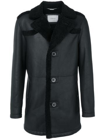 Lanvin Shearling Coat - Black