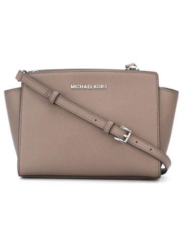 Michael Michael Kors Mini 'selma' Crossbody Bag, Women's, Brown