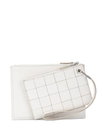 Bottega Veneta Bottega Veneta 574049v0ekj Bianco Apicreated - White