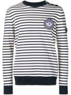 Balmain Striped Sweater - Blue