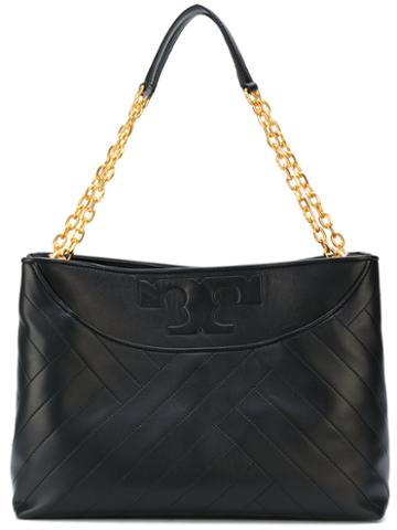 Tory Burch - Alexa Tote - Women - Leather - One Size, Black, Leather